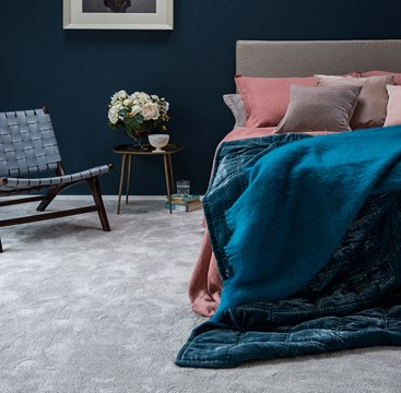 Excellent choice of bedroom carpets, enjoy your silent comfort.